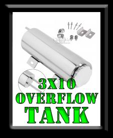 3 x 10 Overflow Tank